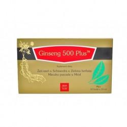 Ginseng 500 Plus 10 fiolek x 10 ml