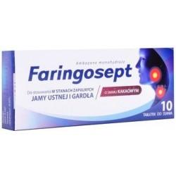 Faringosept tabletki 10 tabl.