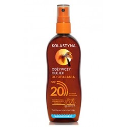 Kolastyna Odżywczy olejek do opalania SPF20 150ml