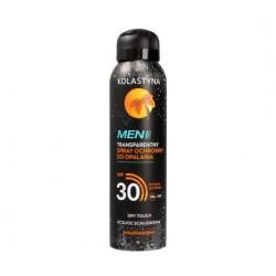 Kolastyna Men Transparentny Spray ochronny do opalania SPF30 150 ml