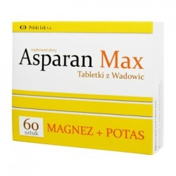 Asparan MAX Tabletki z Wadowic 60tabl.