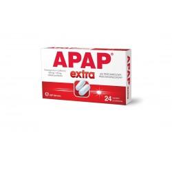 Apap Extra  tabletki powlekane 24 tabl. powl.