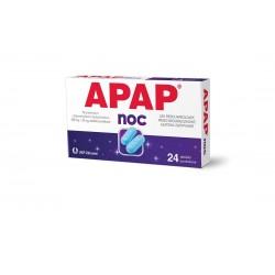 Apap Noc 500 mg + 25 mg  tabletki  powlekane 24 tabl.