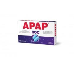 Apap Noc 500 mg + 25 mg  tabletki  powlekane 6 tabl.