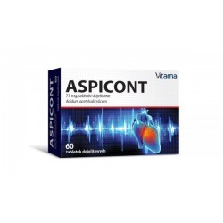Aspicont tabletki dojelitowe 60tabl.