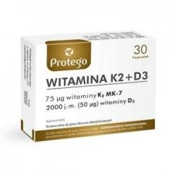 Witamina K2 + D3 kapsułki 30kaps.