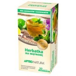 Herbatka na wątrobę Apteo saszetki 20sasz.