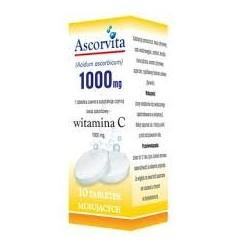 Ascorvita 1000mg  tabletki musujące 10tabl.