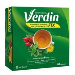 Verdin Fix herbatka saszetki 40 sasz.