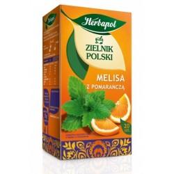 Zielnik Polski Melisa z pomarańczą saszetki 20 sasz.
