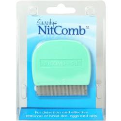 Grzebień Nitcomb przeciw pasożytom skóry głowy 1szt.