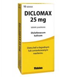 Diclomax 25mg tabletki powlekane 10tabl.