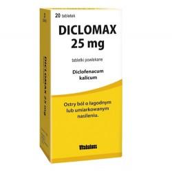 Diclomax 25mg tabletki powlekane 20tabl.