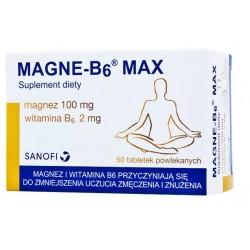 Magne-B6 Max tabletki powlekane 50 tabl.