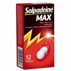 Solpadeine Max tabletki musujące 12 tabl.