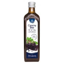 Czarny bez 100% sok z owoców pasteryzowany 490ml