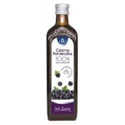 Czarna porzeczka 100% sok z owoców pasteryzowany 490ml