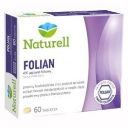 Naturell Folian 400 µg  tabletki 60tabl.