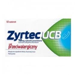 Zyrtec UCB tabletki powlekane 10 tabl.