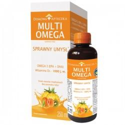 MultiOmega o smaku owoców tropikalnych syrop 250 ml