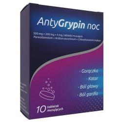 AntyGrypin noc tabletki musujące 10tabl.