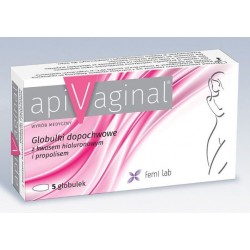 Apivaginal globulki dopochwowe 5 szt.