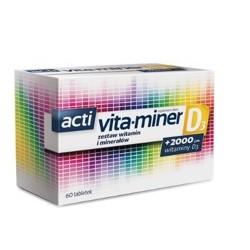 Acti Vita-miner D3 tabletki 60tabl.