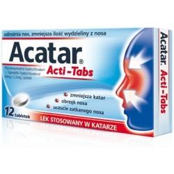 Acatar Acti-Tabs tabletki 12 tabl.