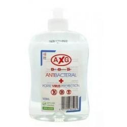 AXG Antibacterial żel dezynfekujący do rąk z aloesem 500ml