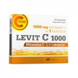 Levit C 1000 witamina C L(+) skrętna kapsułki 30kaps.