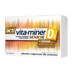 Acti Vita-miner Senior D3 tabletki 60tabl.