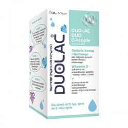 Duolac Duo D-krople 7,5ml