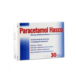 Paracetamol Hasco 500mg tabletki 30tabl.