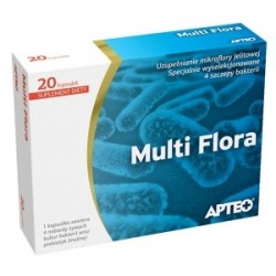 Multi Flora dla kobiet Apteo kapsułki 10 kaps.