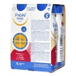 Frebini Energy Drink o smaku truskawkowym 4 x 200ml