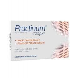 Proctinum czopki 10 szt.