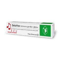 GeloVox Ochrona gardła i głosu tabletki do ssania 20 past.