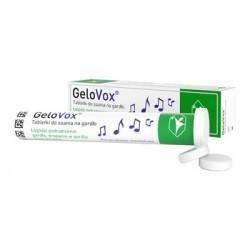 GeloVox Ochrona gardła i głosu tabletki do ssania porzeczkowo-mentolowe 20 tabl.