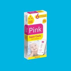 Pink Test Super Czuły test ciążowy płytkowy1 op.