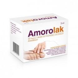Amorolak 50 mg/ml lakier do paznokci leczniczy 3g