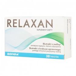 Relaxan tabletki powlekane 30 tabl.