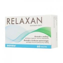 Relaxan tabletki powlekane 60 tabl.