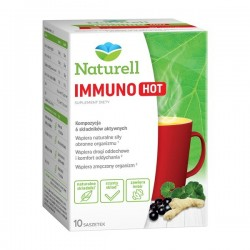 Naturell Immuno HOT proszek w saszetkach 10 sasz.