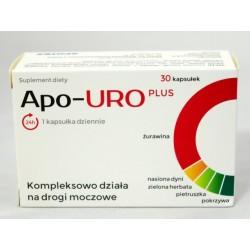 Apo-Uro Plus kapsułki 30 kaps.