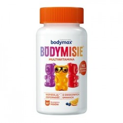 Bodymax Bodymisie żelki o smakach owocowych 60 szt.
