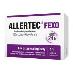 Allertec Fexo120 mg tabletki  powlekane 10 tabl.