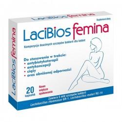 Lacibios Femina kapsułki 20 kaps.