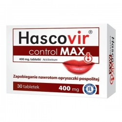 Hascovir Control Max 400mg tabletki 30 tabl.