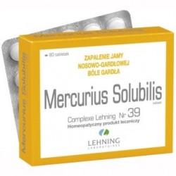Lehning Mercurius Solubilis Complexe Nr 39 tabletki 80tabl.