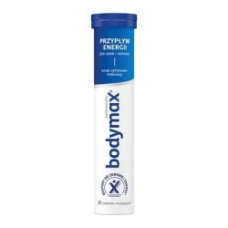Bodymax Przypływ Energii tabletki musujące 20 tabl.